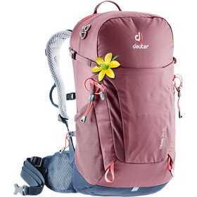 Deuter Trail 24 SL Backpack Damen maron-navy